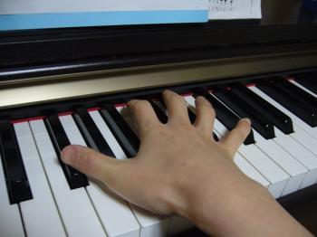 指を全開!!!