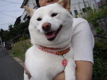 笑顔全開~