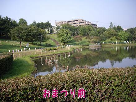 朝の徳生公園