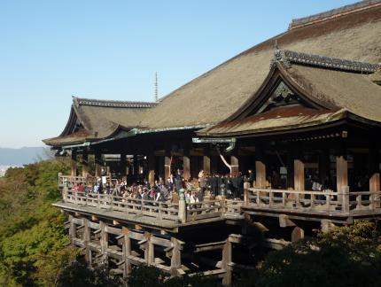 見学旅行 清水寺