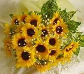 花束 ひまわり
