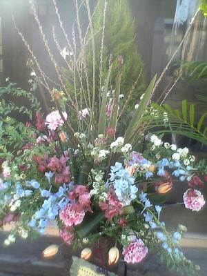 春のスタンド花