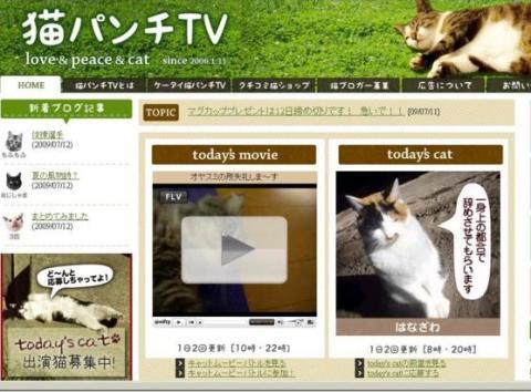 猫パンチTV0