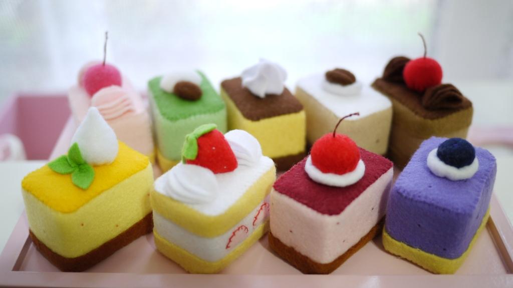 スクエア☆プチケーキ