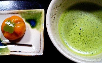 波ぎ茶寮の抹茶セット