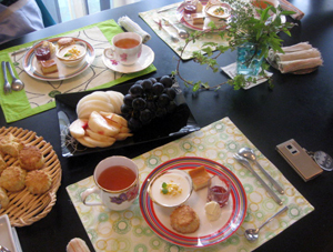 チーズケーキ特集! Aoiサンと、従兄弟のYurikoサンと、りくクン・りなチャンと♪