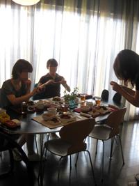 TokoTokoサン、Sai子サン、Kyoukoサン、ありがとうございました♪