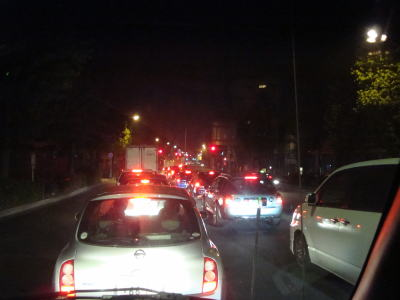 環八大渋滞!!
