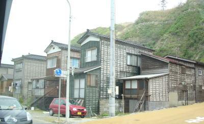 新潟の海岸沿いのお家