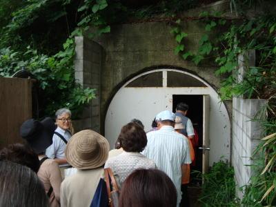 慶應義塾大学 いよいよ地下壕