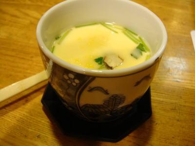 下田寿司 茶碗蒸し