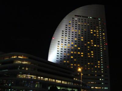 みなとみらい夜景(インターコンチネンタル横浜)