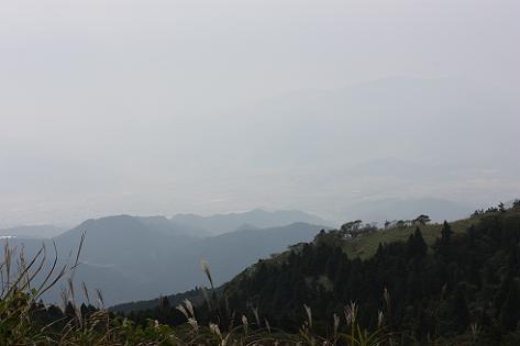 霞む山々♪