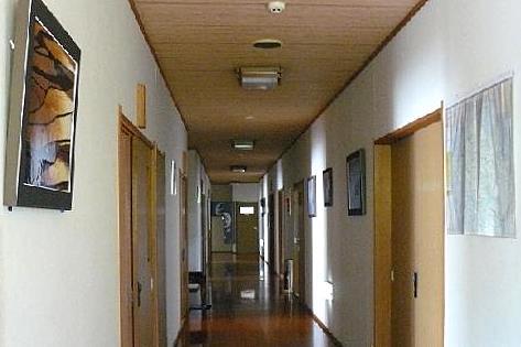 廊下の一番奥へ♪