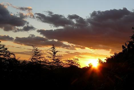 冬の夕陽♪