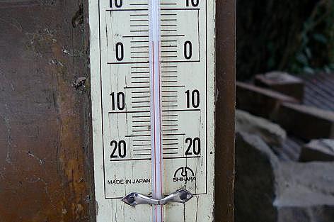 気温は4℃♪