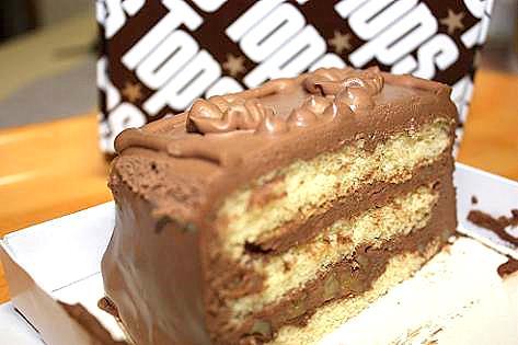 トップスのチョコケーキ♪