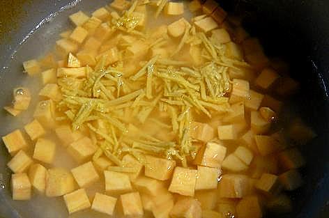 さつま芋と生姜で♪