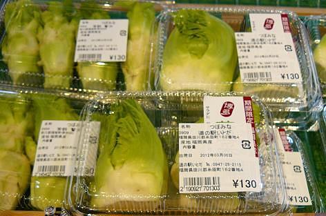 つぼみ菜♪