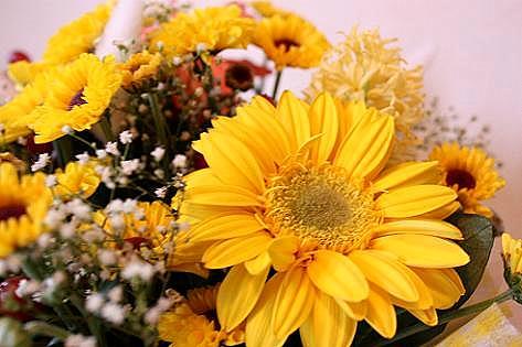 お花のアレンジの贈り物♪