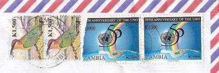 ザンビアP切手20108