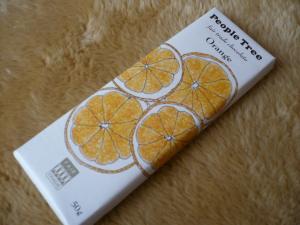 フェアトレードオレンジチョコ