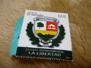 エルサルバドル未使用切手20113