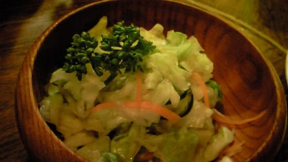 サラダ感覚でガッツガッツ
