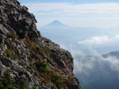 裾野まで見えた富士山