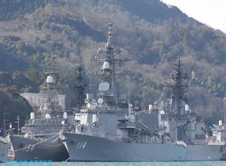 舞鶴にロシア艦としまかぜ 2