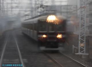 阪急京都本線 局地豪雨 2
