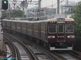 阪急京都本線 局地豪雨 1