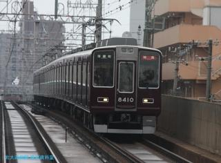 阪急京都本線 局地豪雨 4