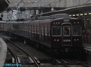 阪急京都本線 局地豪雨 5