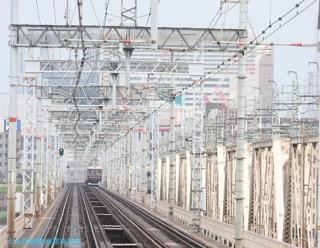 阪急京都本線 局地豪雨 9