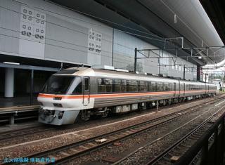 京都駅の ひだ しなの 5