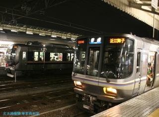 京都駅ちょい夜景の撮影 2