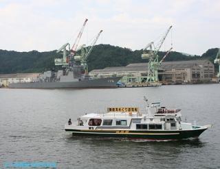 舞鶴湾めぐり遊覧船 3