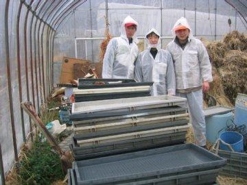 新潟産業大学からの学生たち