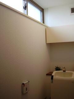 トイレの窓と収納