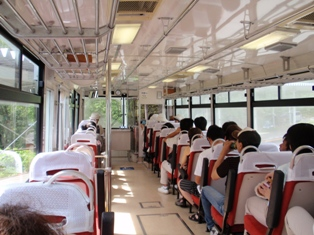 黒四ダム_トローリーバス
