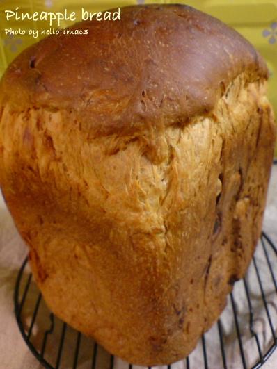 パイナップル食パン