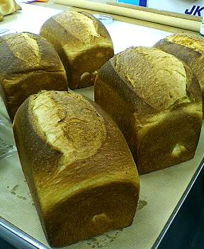 ブリオッシュ生地のパン