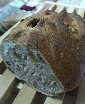 スペルト小麦のフルーツブレッド