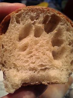 干柿酵母パン断面