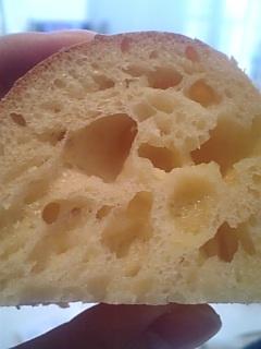 チーズマフィン断面
