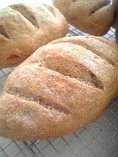 かぼちゃの種&松の実パン