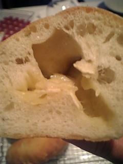 バジルチーズ断面