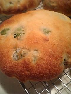 枝豆アーモンドパン