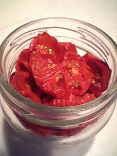 自家製ドライトマト